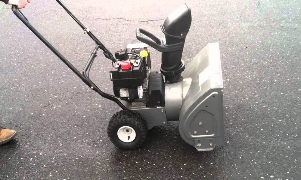 How to start craftsman snow blower