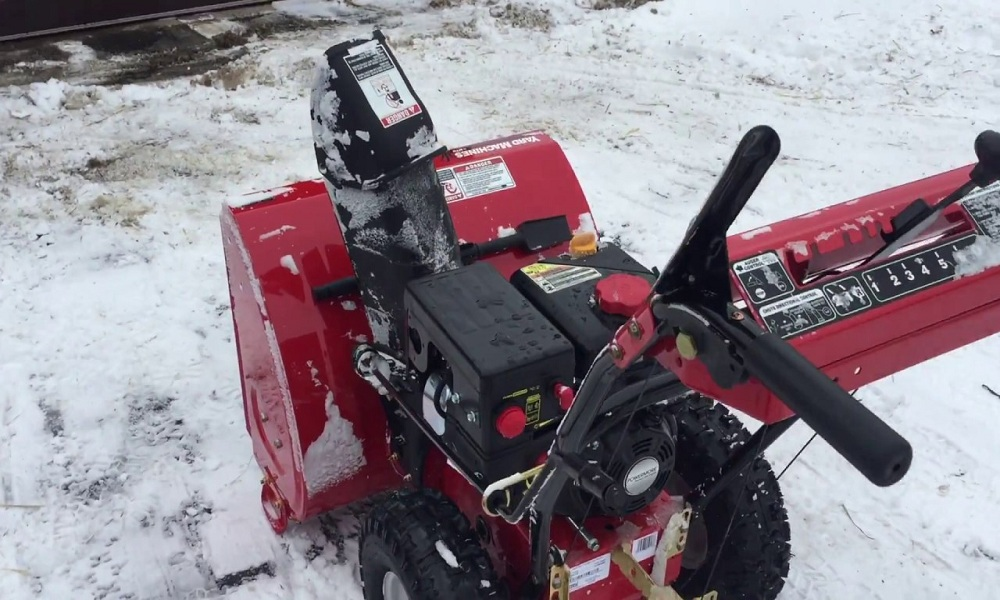 How to Start a Yard Machine Snow Blower