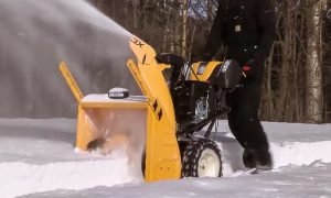 How To Use A Snowblower In Wet Snow